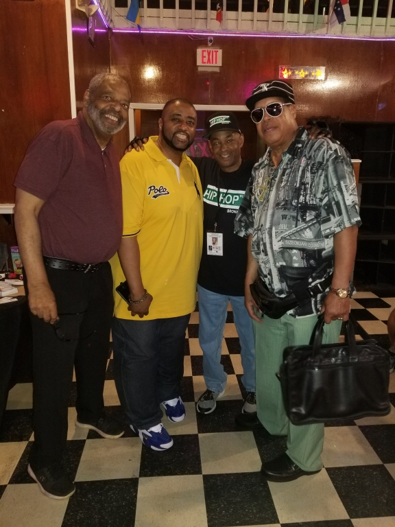 Doc Bradford, DJ Biggmann, The Grand Wizard Stevie 'D', Dean Jackson
