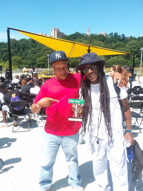 DJ Reggie Reg & Chief Rocker Busy Bee