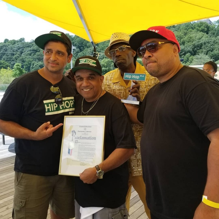 April 10, 2019 Officially Proclaimed Hip Hop Day In The Bronx, NY