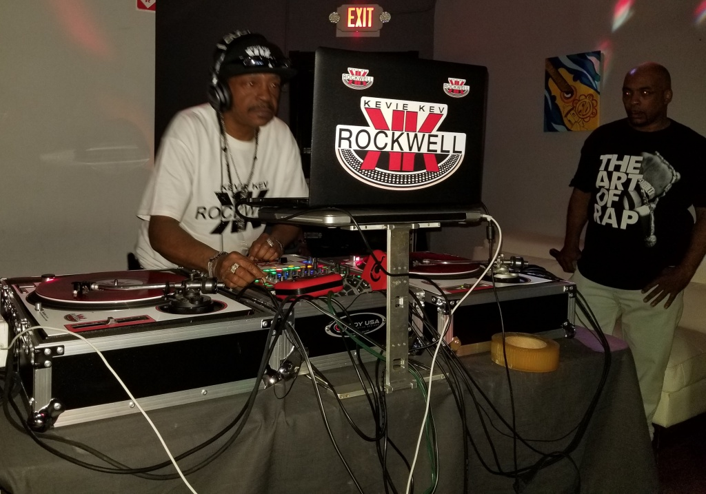 DJ Kevie Kev Rockwell Live On The Set