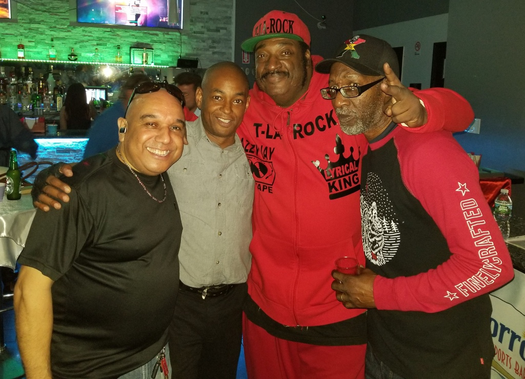 Al Pizarro, The Grand Wizard Stevie 'D', T-La Rock, Coke La Rock