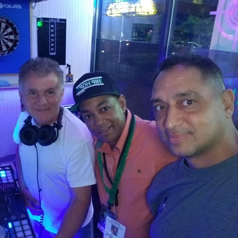 "DJ Tony, The Grand Wizard Stevie 'D', Jerry ""Fast Feet"" Fontanez"