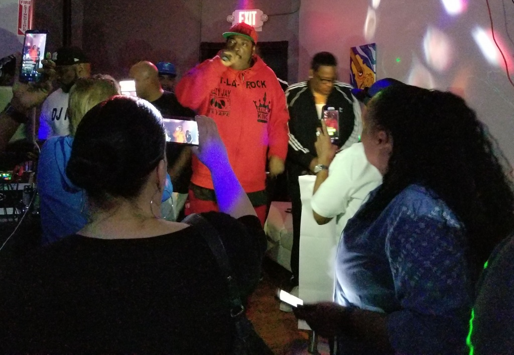 """The Legendary T-La Rock Performing """"It's Yours..."""""""