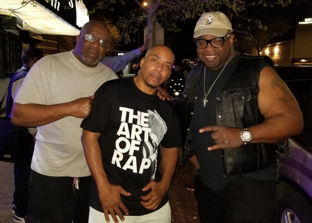 DJ Tony Tone (Cold Crush) & Mr Biggs (Soulsonic Force)