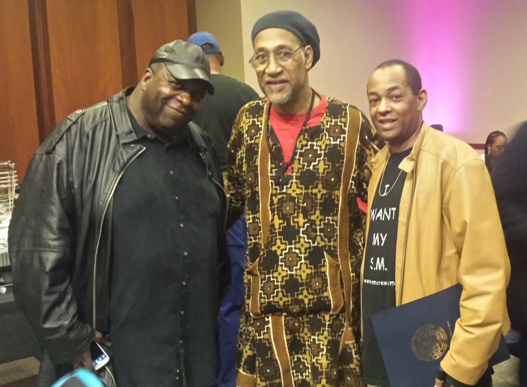 The Great Doc-P, The Legendary DJ Kool Herc, The Grand Wizard Stevie 'D'