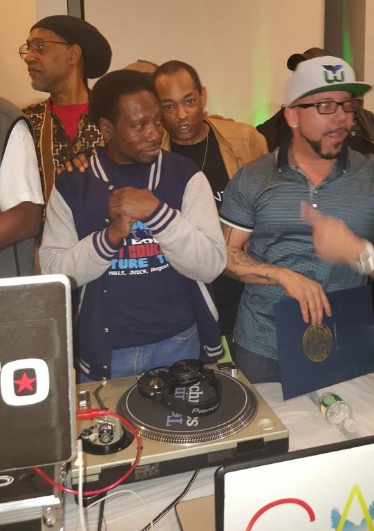 DJ Jazzy Jay, DJ KG, DJ Kool Herc, The Grand Wizard Stevie 'D'