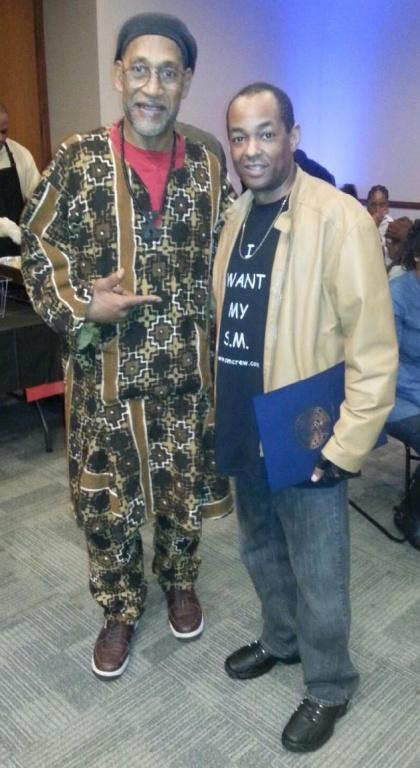DJ Kool Herc & The Grand Wizard Stevie 'D'