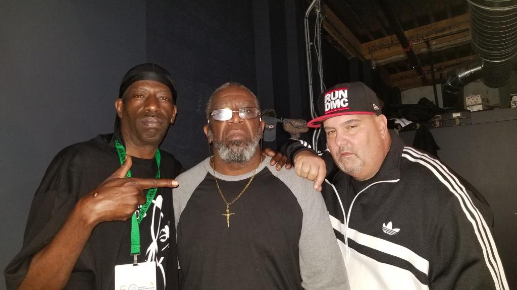 Grand Wizard Rasheen. DJ Tony Crush, DJ White Flash