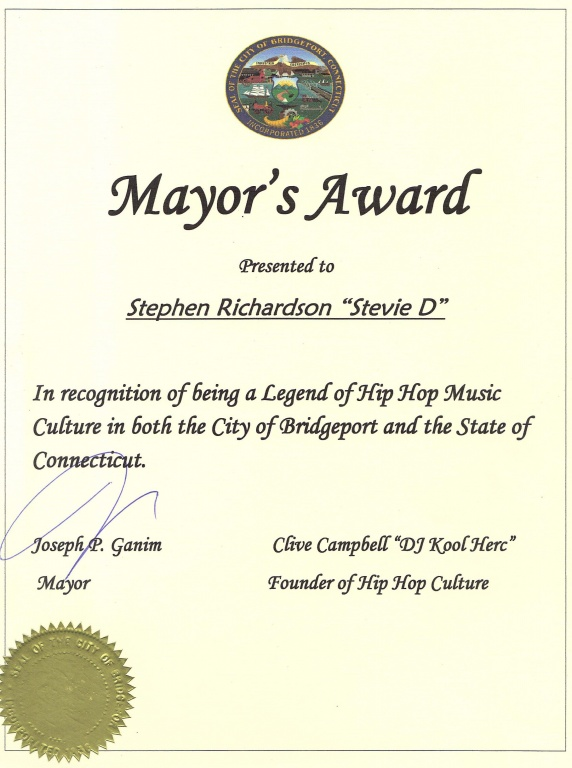 Mayor's Award - 2-27-16