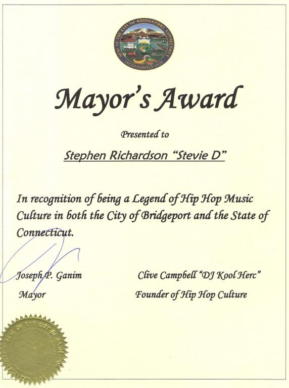 Mayor's Award - 2-27-16