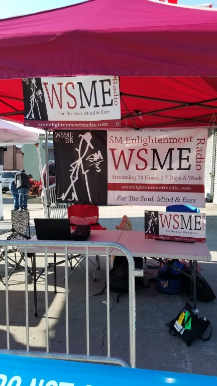 WSME Radio Streaming Live At The NYC Marathon