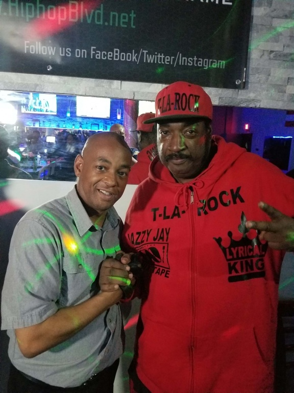 The Grand Wizard Stevie 'D' & The Legendary T-La-Rock
