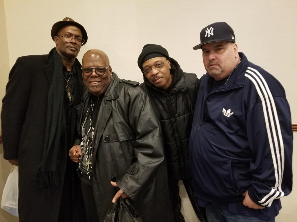 DJ Terrible T, DJ Chubbs, The Original Cutmaster Joey Dee, DJ White Flash
