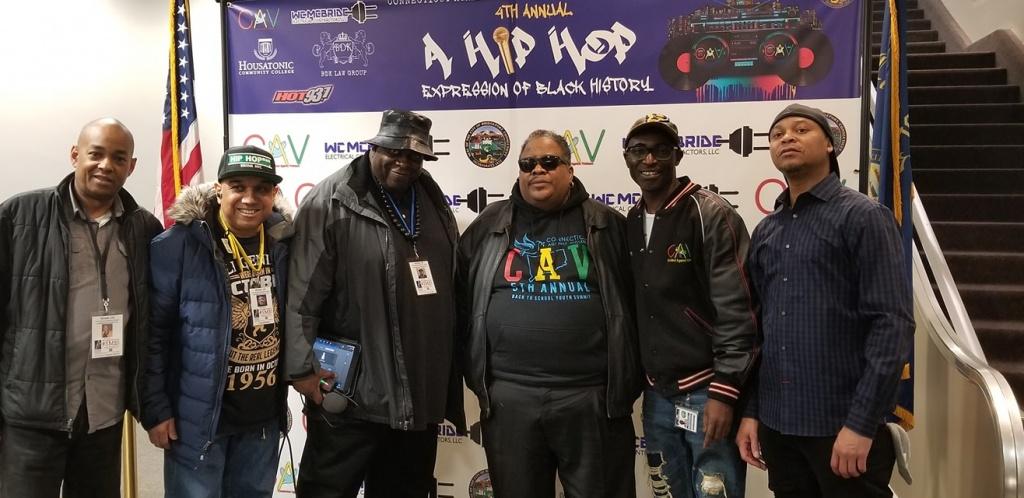 Stevie 'D', Al Pizarro, Doc-P, Dr. Dre, Kingsley Osei, Ron Ice